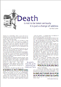 Death / Tod